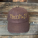 NOCARE/EMBROIDERED CAP_BROWN