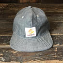 NOCARE/6PANEL WORK  CAP_CHAMBRAY