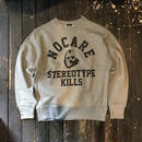 NOCARE/STEREOTYPE KILLS CREWNECK SWEAT_GRAY