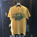 BEASTIE BRAINS/SS TEE_YELLOW
