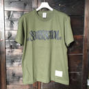5656WORKINGS/SFC TAG TEE_C.GREEN
