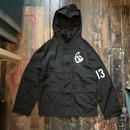 NOCARE/TEAM13 SOFT SHELL ARMY JKT_BLACK