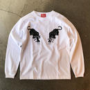 5656WORKINGS/BLK PANTHER PARTY L/S _WHITE
