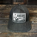 NOCARE/6 PANEL WORK CAP #02_BLUE DENIM