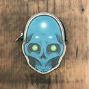 DFA/ESPY BLUE SKULL COIN CASE