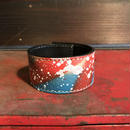 DFA/SPACE DRIPPING  LEATHER BRACELET_01