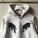 5656WORKINGS/BLK PANTHE PARTY HOODIE_OATMEAL