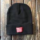 5656WORKINGS/5656TAG  KNIT CAP_BLACK