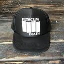 FILTHCUM DEATH/FD LOGO MESH CAP_BLACK