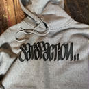 5656WORKINGS/SATISFACTION HOODIE_GRAY