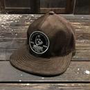 NOCARE/6PANEL CAMP CAP_BROWN