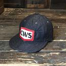 5656WORKINGS/CWS TEAM CAP_QUILTING DENIM