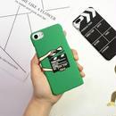 【SI009】★ iPhone 6 / 6s / 6Plus / 6sPlus / 7 / 7Plus ★ シェル型 ケース ( 2パターン ) ムービー イラスト 映画 モチーフ かわいい シンプル