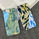 【SI024】★ iPhone 7 / 7Plus ★ シェル型 ケース ( 2パターン ) ナチュラル グリーン ボタニカル おしゃれ キレイ 大人 シンプル 人気 おすすめ メンズ