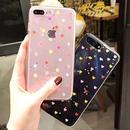 [NW212]  ★ iPhone 6 / 6s / 6Plus / 6sPlus / 7 / 7Plus / 8 / 8Plus ★ シェルカバー ハート 星 ホロ ラメ きらきら クリア