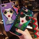 [NW126]  ★  iPhone 6 / 6s / 6Plus / 6sPlus / 7 / 7Plus ★ シェルカバー ケース オシャレ サングラス 女の子 蛇革 パイソン