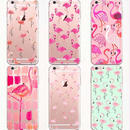 【HY028】★ iPhone 6 / 6s ★ ソフトケース ピンク フラミンゴ シンプル かわいい 大人 オシャレ キュート