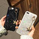 [NW452]  ★ iPhone 6 / 6s / 6Plus / 6sPlus / 7 / 7Plus / 8 / 8Plus ★ シェルカバー ケース 星 チャーム グリッター きらきら
