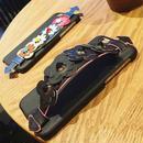 【MT093】iPhone6/6s/6Plus/6sPlus デイジー フラワー ブレスレット ブラック iPhoneケース 可愛い お花 おしゃれ