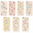 【MT082】iPhone6/6s ポップなイラスト スリム iPhoneケース ~アニマル編~ うさぎ ペンギン かわいい