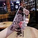 [KS193] ★ iPhone 6 / 6Plus / 7 / 7Plus ★シェル型 ケース クラシカル フラワー きらきら アクセサリー 風 ブレスレット ゴシック iPhone ケース