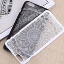 【AO129】★ iPhone6 / 6Plus / 6s / 6sPlus / 7 / 7Plus ★ マンダラ エスニック アジアンモチーフ タイダイ iPhoneケース