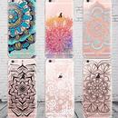【HY029】★ iPhone 6 / iPhone 6 plus ★  ソフトケース フローラル マンダラ おしゃれ きれい 大人 シンプル カラフル かっこいい かわいい