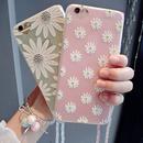 【MT091】iPhone6/6s/6Plus/6sPlus フラワー&ネックストラップ iPhoneケース かわいい おしゃれ 大人