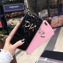 [KS127] ★ iPhone 6 / 6Plus / 7 / 7Plus ★ シェル型 ケース ピンク ブラック ゴールド シルバー ロゴ入り OK or NO iPhone ケース