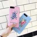 [KS165] ★ iPhone 6 / 6Plus / 7 / 7Plus ★シェル型 ケース ピンク ブルー ベージュ パステルカラー 刺繍 フラワー レザー調 iPhone ケース
