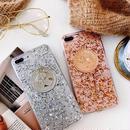 [MD328] ★ iPhone 6 / 6s / 6Plus / 6sPlus / 7 / 7Plus / 8 / 8Plus / X ★ シェルカバー ケース コイン キラキラ 綺麗 可愛い
