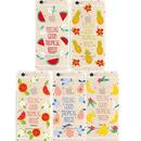 【HY041】★ iPhone 6 / iPhone 6 plus ★ ソフトケース トロピカル フルーツ おしゃれ 大人 シンプル かわいい キュート