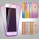 【MT100】iPhoneSE iPhone5/5s iPhone6/6s/6Plus/6sPlus フルカバー パステルレインボウ iPhoneケース シンプル 綺麗 かっこいい