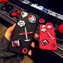 【AO120】★ iPhone6 / 6Plus / 6s / 6sPlus / 7 / 7Plus ★ ポップなトラベルモチーフ iPhoneケース 飛行機