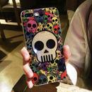 [NW135]★ iPhone 6 / 6s / 6Plus / 6sPlus / 7 / 7Plus ★ シェルカバー ケース マルチ カラー スカル ドクロ パンク ポップ 派手