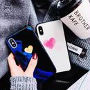 [MD377] ★ iPhone 6 / 6s / 6Plus / 6sPlus / 7 / 7Plus / 8 / 8Plus / X ★ シェルカバー ケース ハート ツヤ 光沢