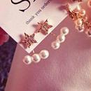 再再販 star pierce  ( design catch)