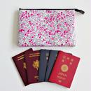 【オーダー】リバティのファミリー用パスポートケース/母子手帳ケース