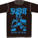 """ZONE OF MAD"" Tシャツ"