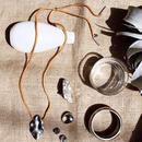 Europium brown necklace