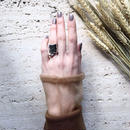 Natural metal ring (2Set)