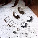 Polished pearl hoop pierce (Gold)