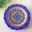 plate18-4★繊細な手描きのトルコ・キュタフヤ陶器(プレート18cm)