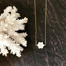 14KGF Camel Flower Shell Necklace