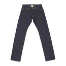 Basic Straight Jeans - Indigo -
