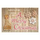クリスマスカード1枚