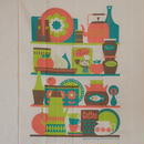 ingela kitchen towel キッチンシェルフ RE/GR
