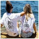 【予約終了】レディース BEST FRIEND Tシャツ(XS-3XL)