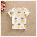 【予約終了】パイナップル Tシャツ(80-120cm)