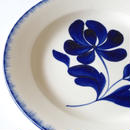 青い花皿 (PL35) 1枚